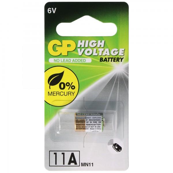 GP11A GP Batterie, 6 Volt Alkaline High Voltage Battery