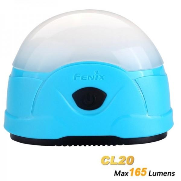 Fenix CL20 LED Campingleuchte Blau inklusive Batterien