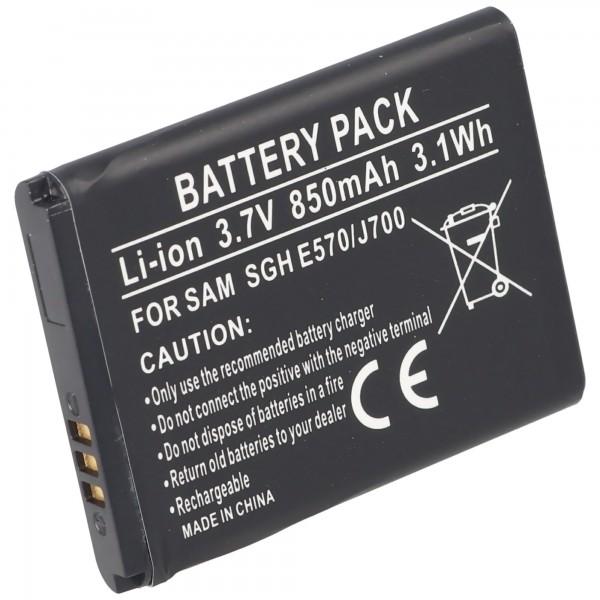 Akku passend für Samsung SGH-E570 Akku, Samsung SGH-J700 Akku AB503442BECSTD
