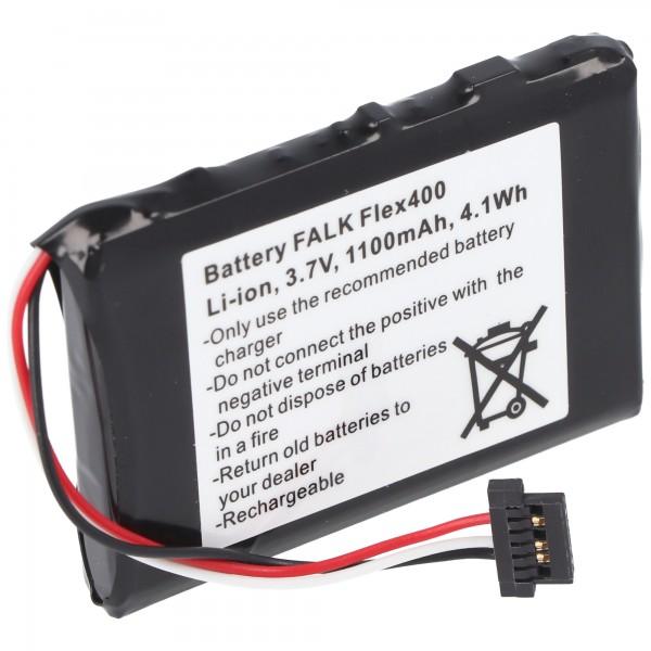Akku passend für Falk Flex 400 Akku BP-400H-11/1200MX