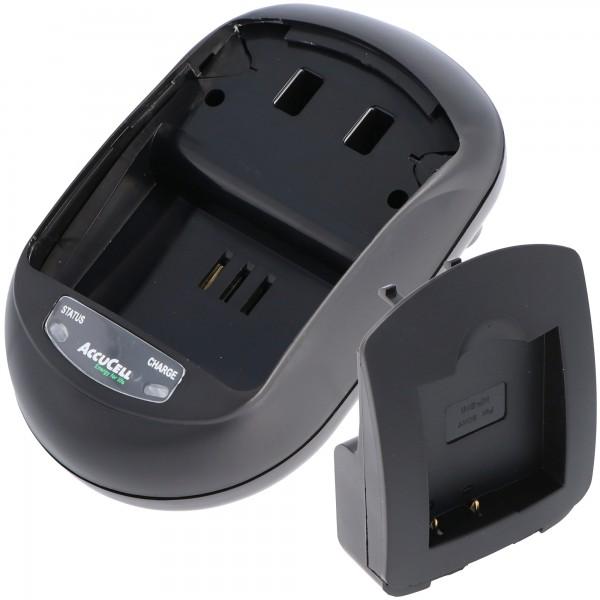 AccuCell Ladegerät passend für Casio NP-120 Akku, EX-S200 Akku