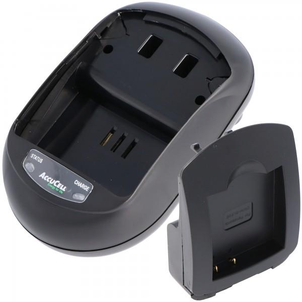 AccuCell Schnell-Ladegerät passend für Panasonic DMW-BLE9