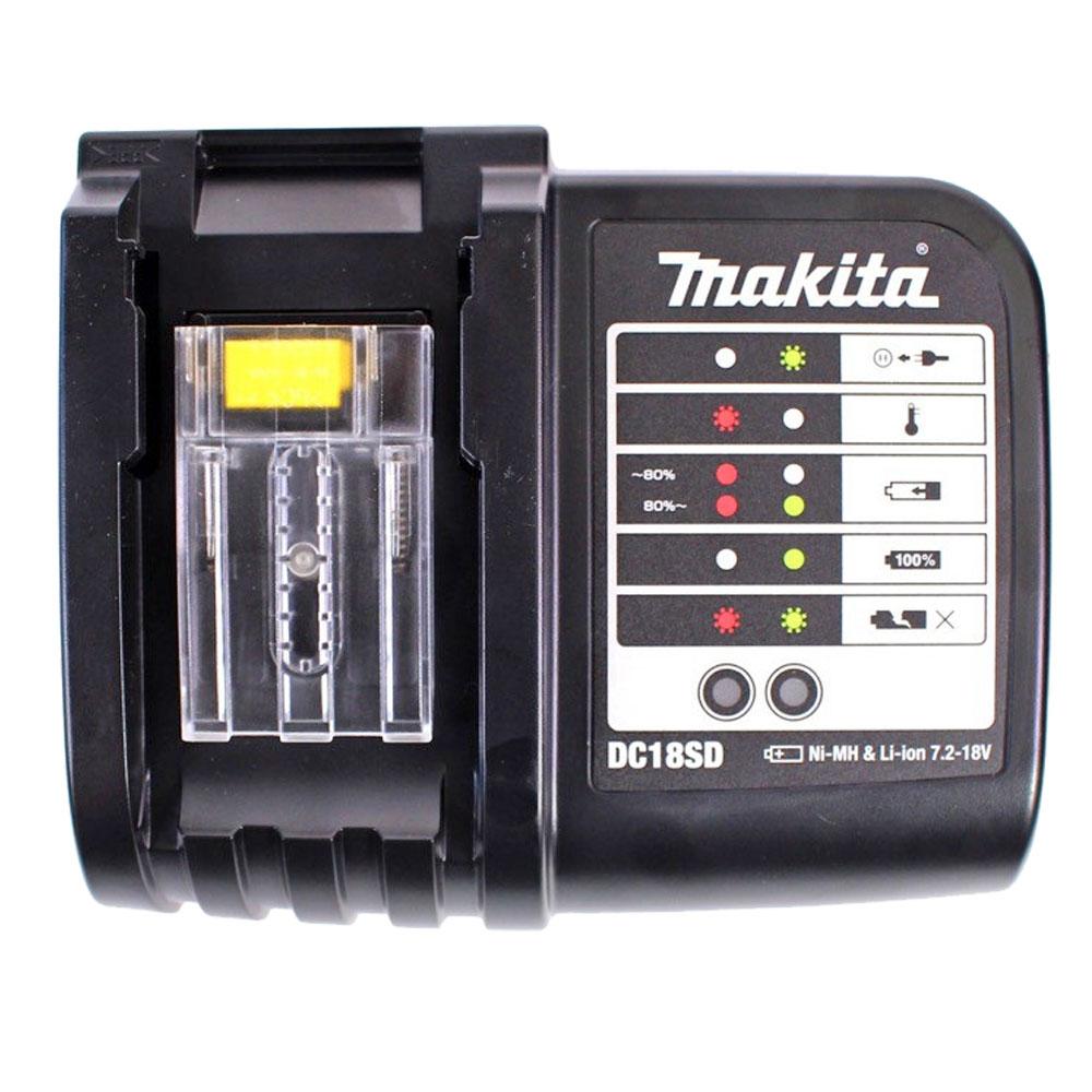 Makita original Ladegerät DC18 SD für 7.2V bis 18V NiMH und