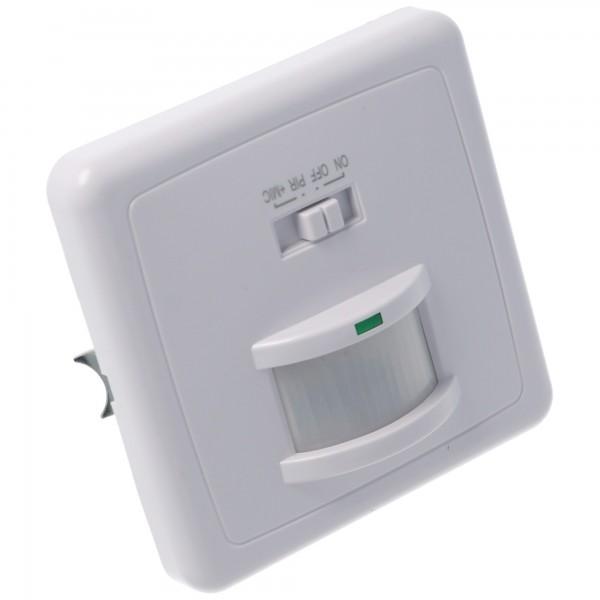 Infrarot Bewegungsmelder Unterputz (Indoor) Reagiert auf Bewegung und Akustik