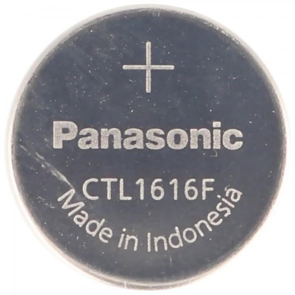Casio Kondensator CTL1616, CTL1616F ohne Ableiter, Abmessungen 1,6 x 16,0 mm