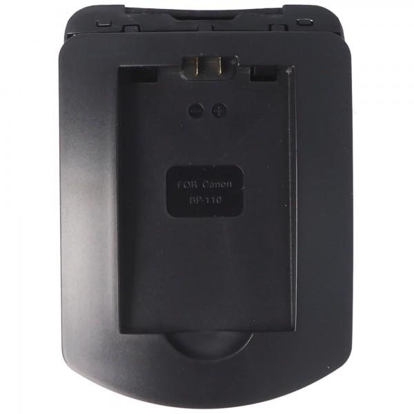 Ladeschale passend für den Akku Canon BP-110, HF R206, HF R26, HF R28, CG-110
