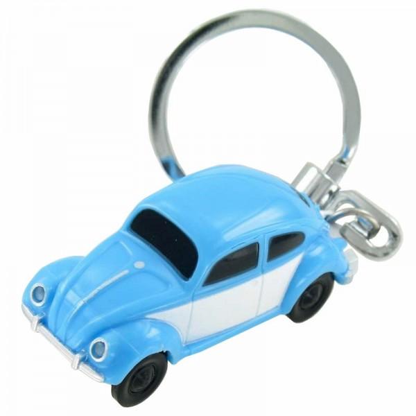 LED-schlüsselanhänger Volkswagen VW Käfer in blau 1:87 Boxer
