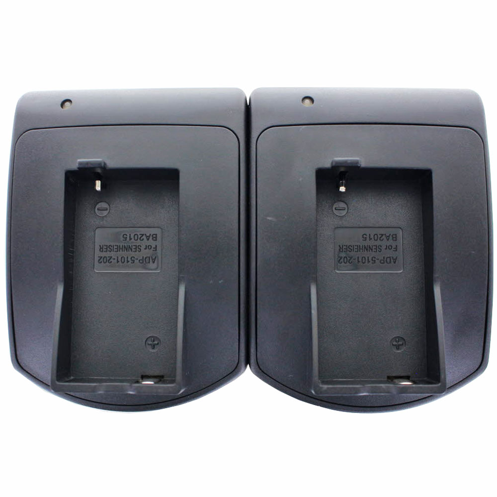 2fach Schnell Ladegerät passend für den Sennheiser BA2015