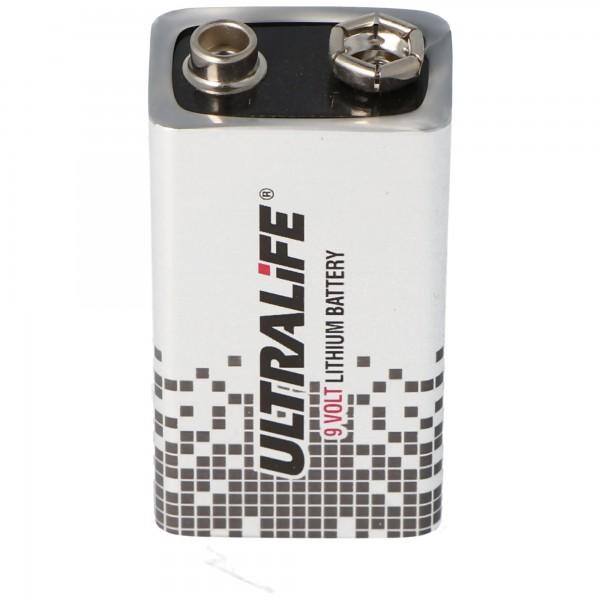 Ersatzbatterie passend für ABUS FU2993 Secvest Funk-Rauchmelder und Heimrauchmelder Batterie