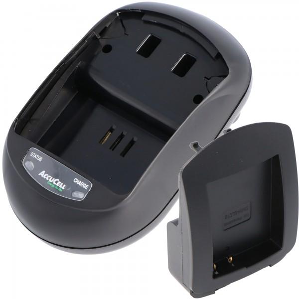Schnell-Ladegerät passend für den Panasonic DMW-BLC12 Akku, DMC-GH2