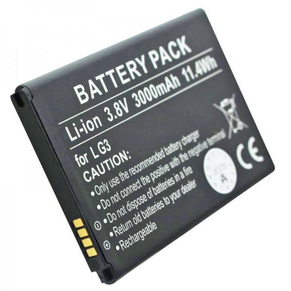Akku passend für den LG Akku D855, D858, G3, VS985, BL-53YH Akku