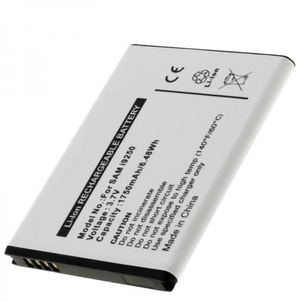 Akku passend für das Samsung Nexus Prime, Samsung GT-I9250, Samsung Galaxy Nexus, 1750mAh