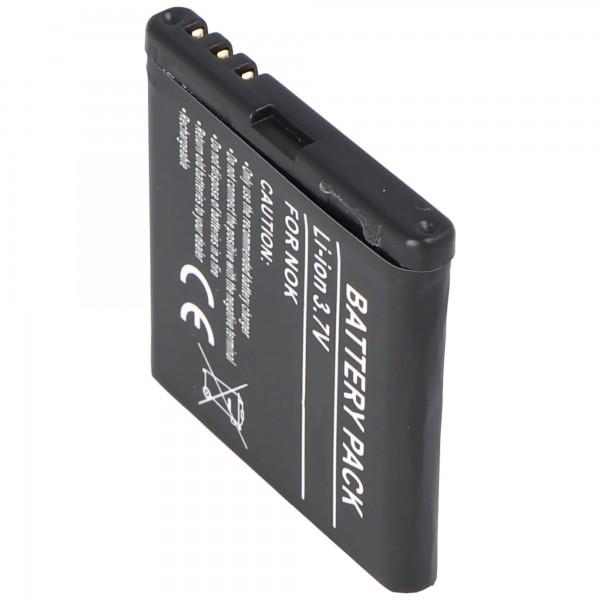 AccuCell Akku passend für Nokia 5610, BP-5M