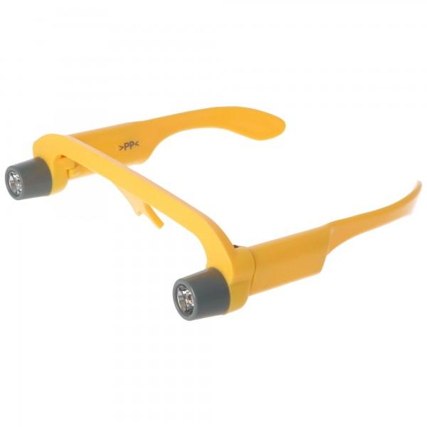 Arbeits-Leucht-Brille mit Standard Krypton Birnchen für 4x Micro AAA Batterien