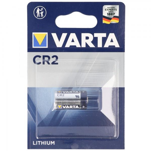 Varta CR2 Photo-Lithium Batterie 6206, 5046LC, CR-2, CR2EP