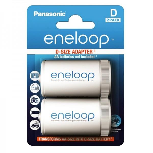 Panasonic eneloop Standard Mono D Adapter BQ-BS1E/2E