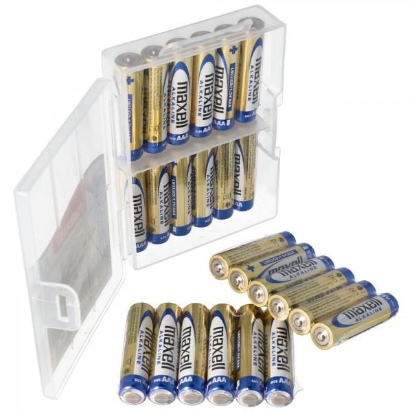 24er Marken Alkaline Batterie LR03 AAA im Sparpack Micro Batterien LR03 Batteriesparpack 1.5 Volt Batterie