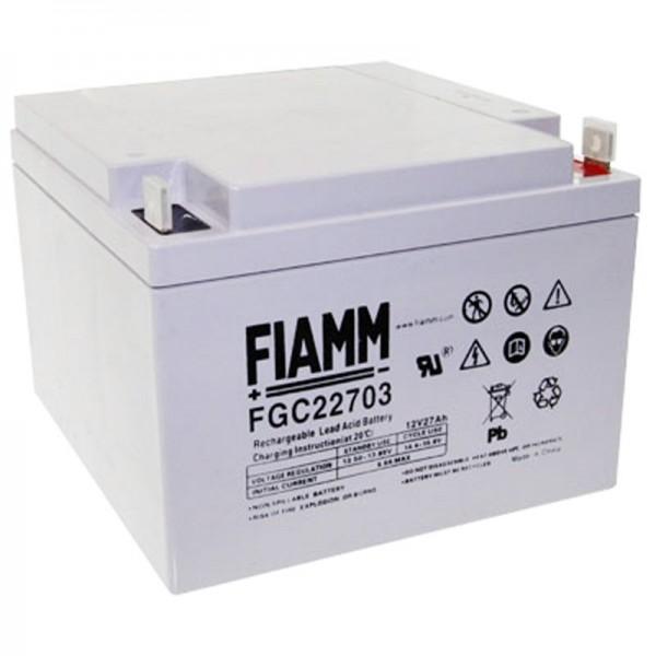Fiamm FGC22703 Akku Cyclic, 27Ah