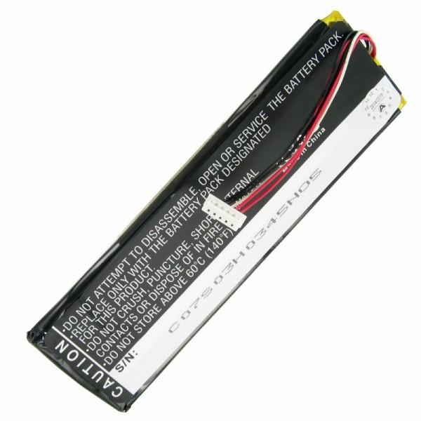 AccuCell Akku passend für Sonos CB100, CR100 Remote Controller