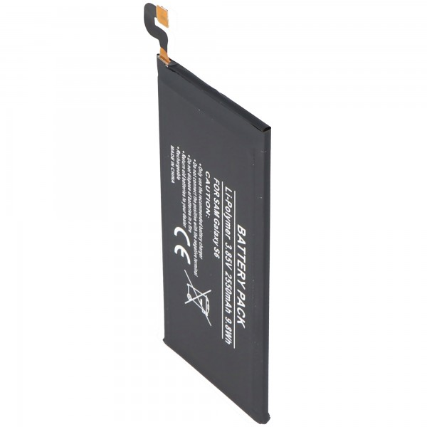 Akku passend für Samsung Galaxy S6 EB-BG920ABE Akku 2550mAh