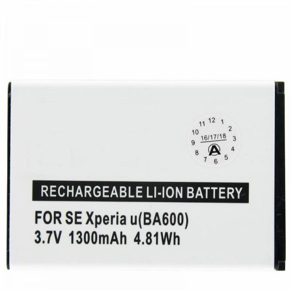 AccuCell Akku passend für Sony Ericsson ST25i, Xperia U, BA600