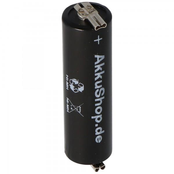 AccuCell NiMH Akku X1600 AA auch passend für Wella Contura HS40, HS61 ca. 50,5x14,5mm