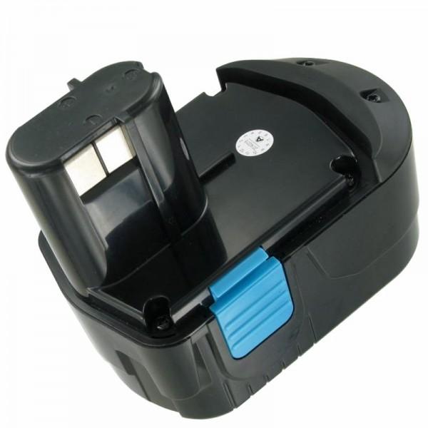AccuCell Akku passend für Hitachi EB1826 HL 18 Volt 2000mAh