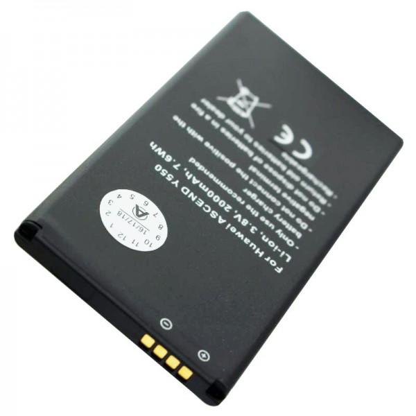 Huawei Ascend G521, Ascend Y550 Akku als Nachbau Akku von AccuCell mit 2000mAh