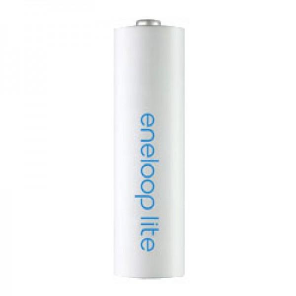 Panasonic eneloop Lite (ehem. Sanyo eneloop Lite) 1,2V NiMH Akku Micro AAA HR-4UQ 600mAh, 1 Stück
