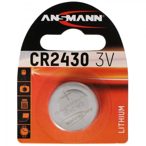 Ansmann CR2430 3 Volt Lithium Batterie 3,0 x 24,5 mm 270mAh