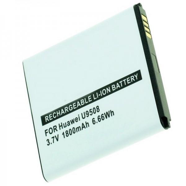 Huawei Honor 2, U9508, Honor Quad Akku mit 1800mAh von AccuCell