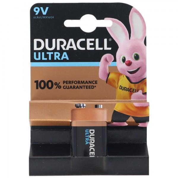 DURACELL ULTRA M3 9 Volt/6LR61 1er Pack