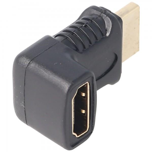 HDMI/HDMI Winkeladapter HDMI™ A-Stecker auf HDMI™ A-Buchse