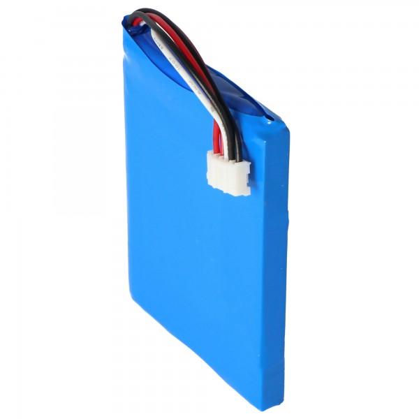 Akku passend für Harman Kardon Esquire 2, Li-Polymer, 3,7V, 2800mAh, 10,4Wh