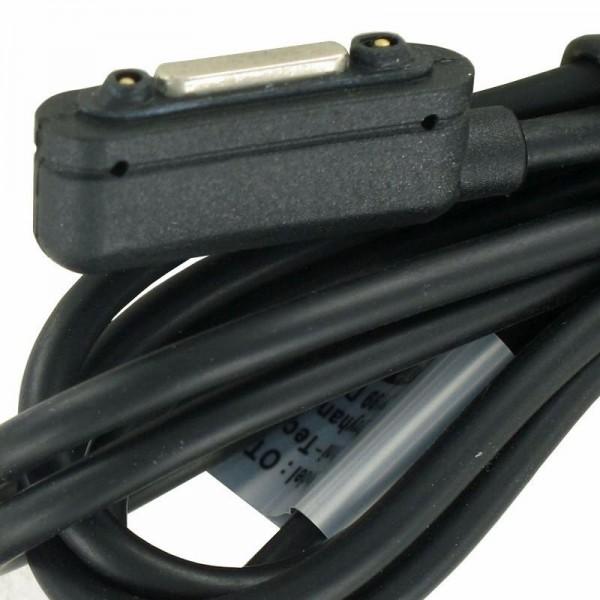USB Magnet Ladekabel passend für Sony Xperia Z1, Z1 Compact, Z2, Z3, Z3 Compact