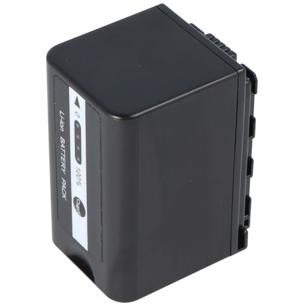 Akku passend für Panasonic VW-VBD29 Akku VW-VBD58, VW-VBD58E-K, VW-VBD58PPK, 4400mAh