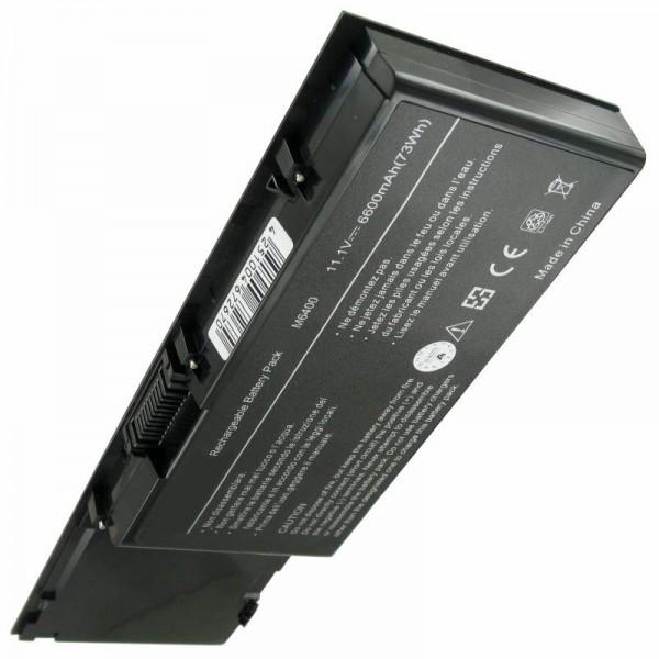 Akku passend für Dell Precision M6400, M6500 6600mAh