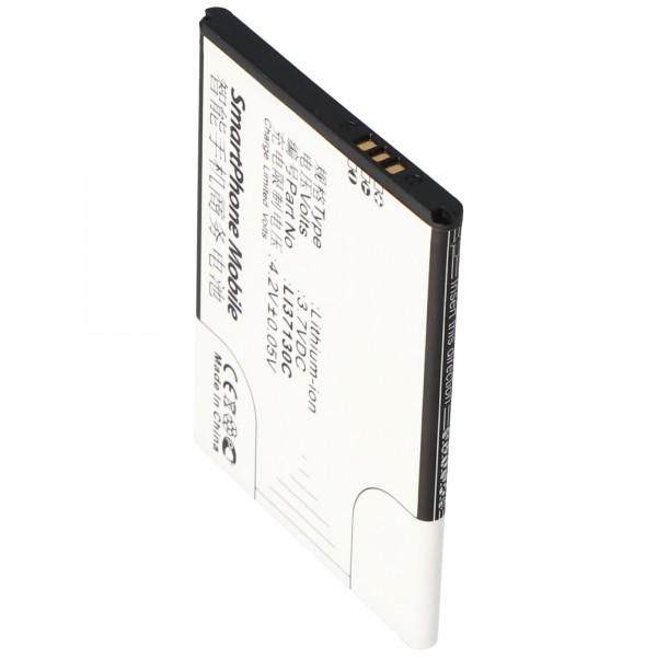 AccuCell Akku passend für den Hisense EG901 Akku Li37130C
