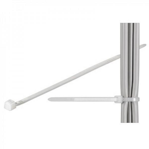 Kabelbinder Standard, transparent Länge 380mm, Breite 7,6mm
