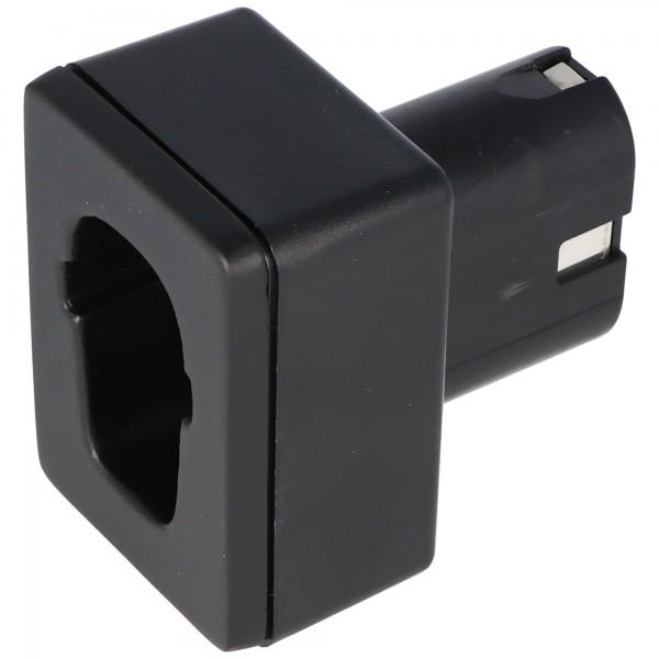 Lade-Adapter passend für Metabo 4,8 - 12 Volt Akku LA-MT01