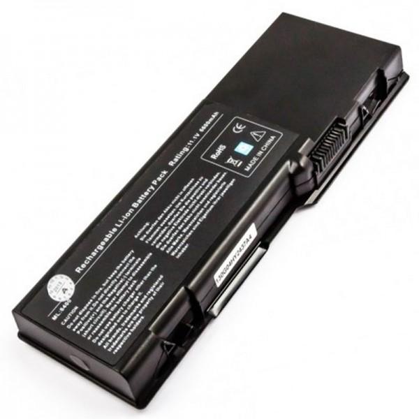 AccuCell Akku passend für Dell Inspiron 6000 Serie, 6600mAh