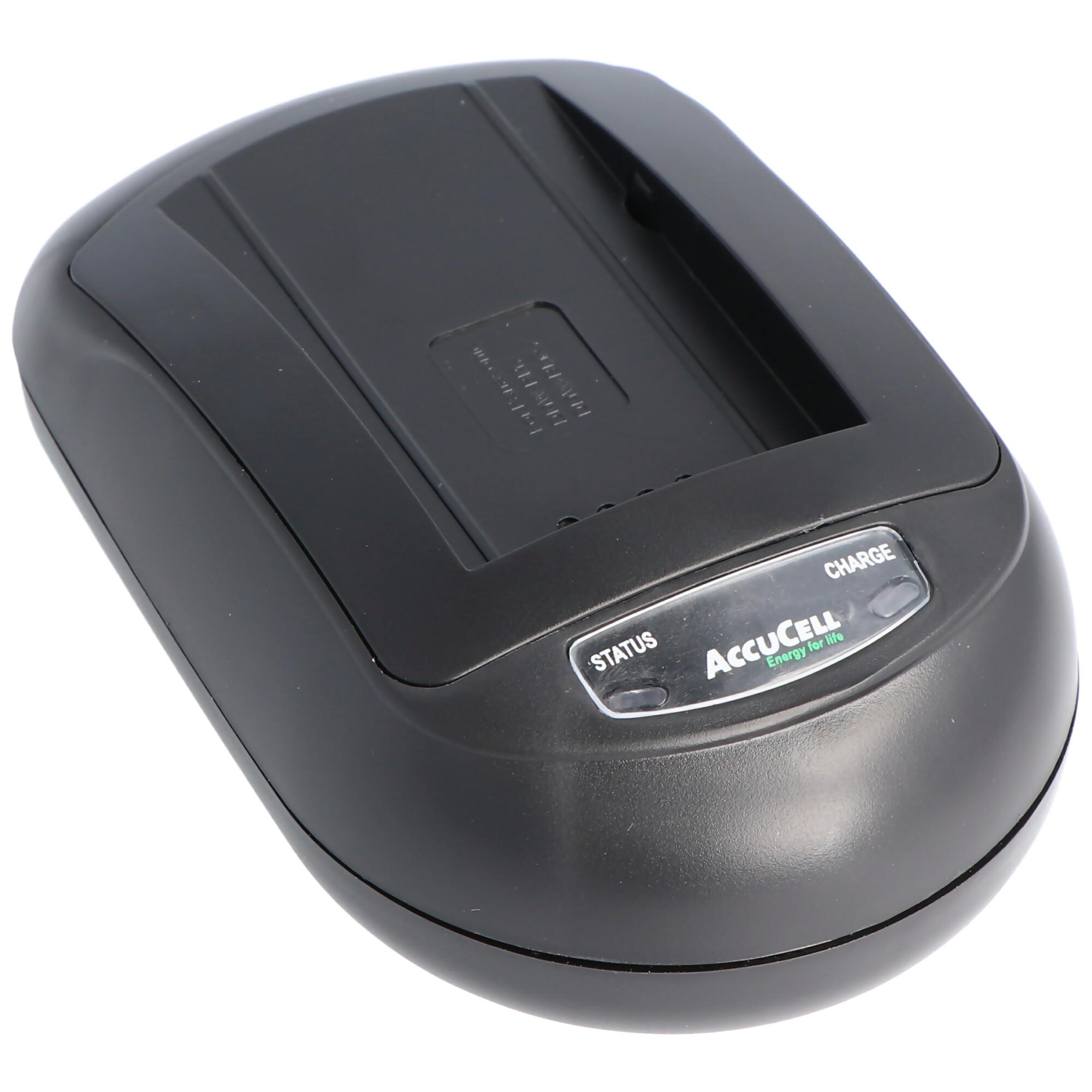 Schnell Ladegerät passend für Sony NEX 3, Sony NEX 5 Akku NP