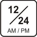 12-24h-Anzeige